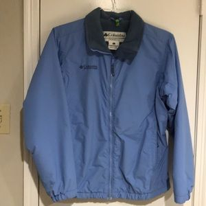Columbia weather resistant blue coat small